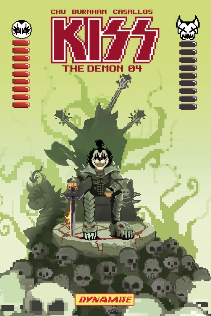 KISS: The Demon #4 (Adams 8-Bit Cover)