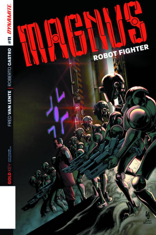 Magnus, Robot Fighter #11 (Lau Cover)