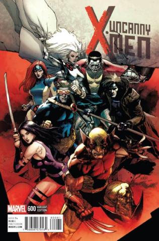 Uncanny X-Men #600 (Yu Cover)