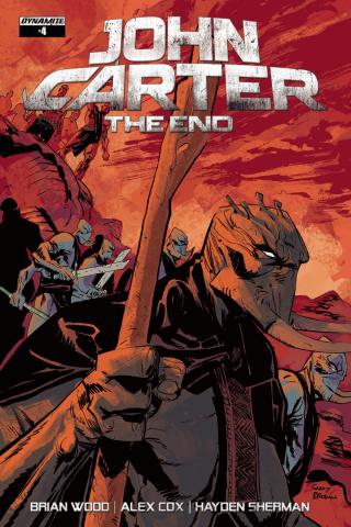 John Carter: The End #4 (Brown Cover)
