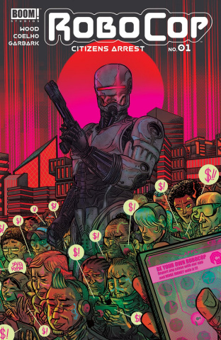 RoboCop: Citizen's Arrest #1 (Rubin Cover)