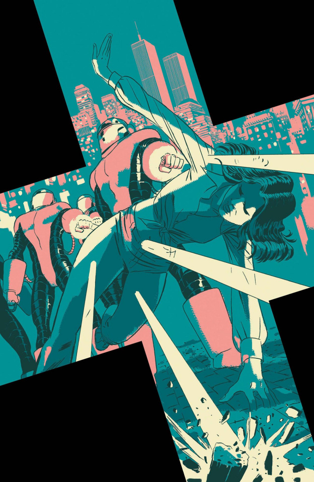 X-Force #9 (Martin God Loves Man Kills Cover)