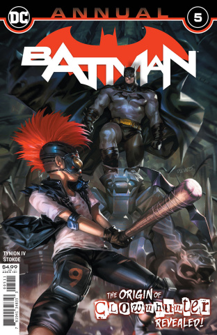 Batman Annual #5 (Derrick Chew Cover)