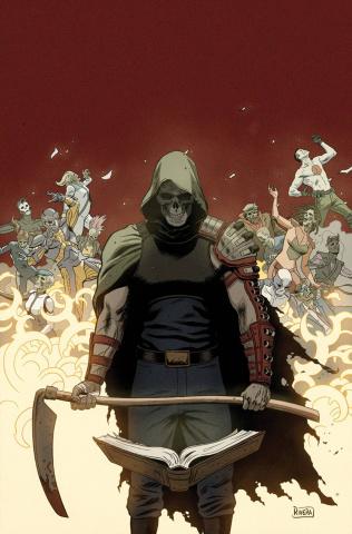 Book of Death #3 (60 Copy Artist Rivera Cover)