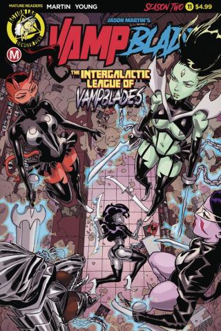 Vampblade, Season Two #11 (Winston Young Cover)