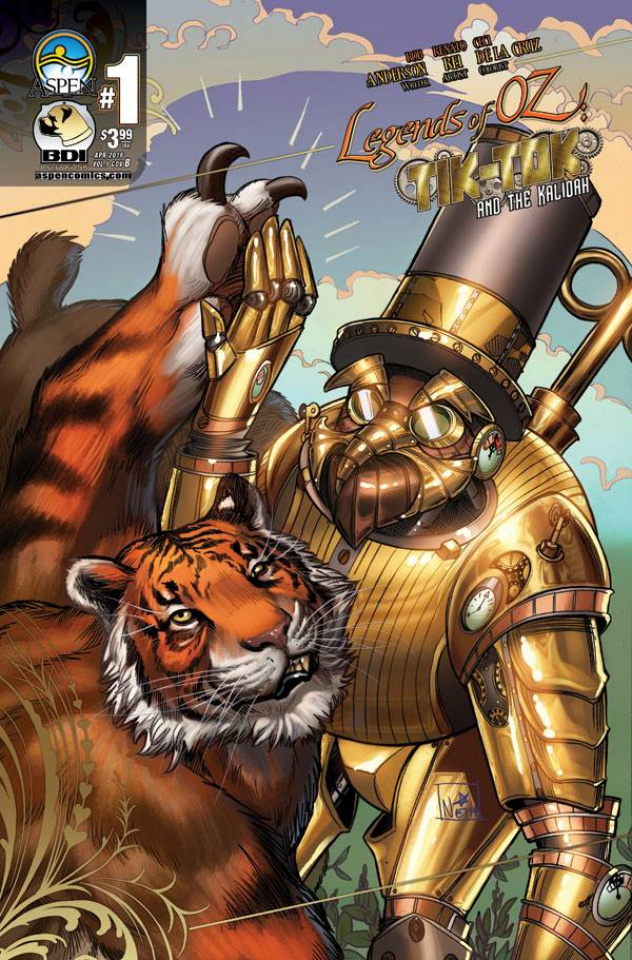 The Legends of Oz: Tik Tok and the Kalidah #1 (4 Copy Cover)