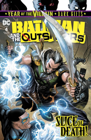 Batman and The Outsiders #4 (Dark Gifts Cover)