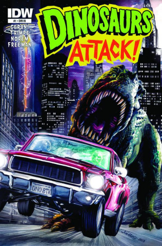 Dinosaurs Attack! #1 (10 Copy Cover)