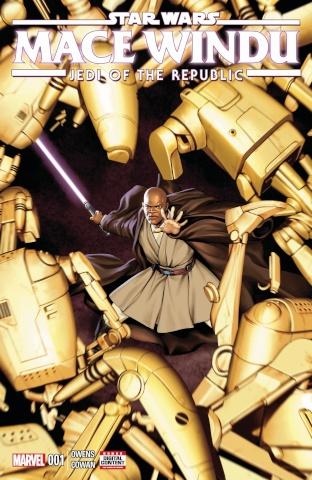 Star Wars: Mace Windu, Jedi of the Republic #1