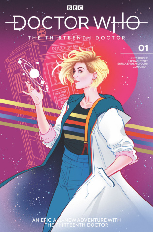 Doctor Who: The Thirteenth Doctor #1 (Ganucheau Cover)