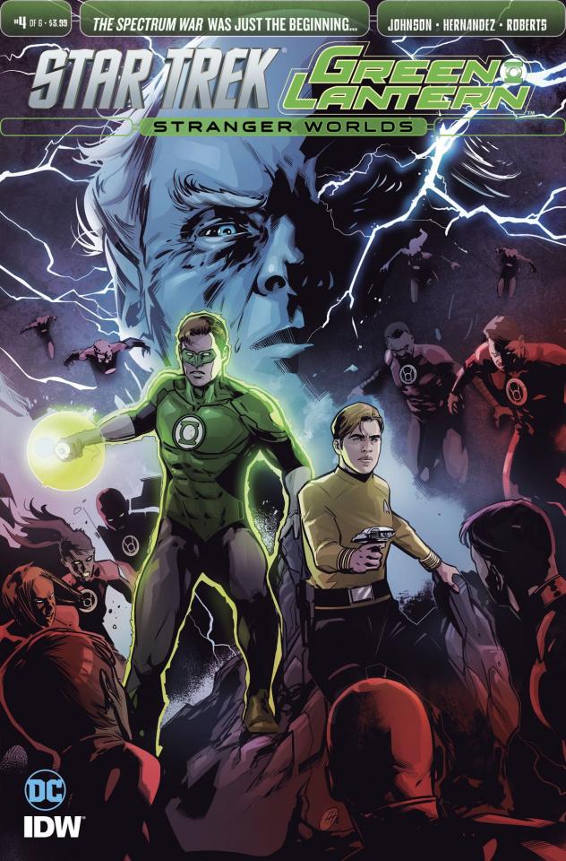 Star Trek / Green Lantern #4