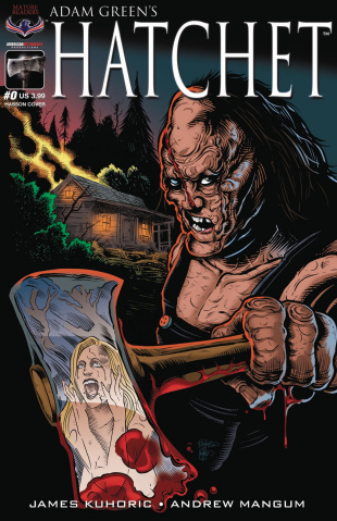 Hatchet #0 (Buz Cover)