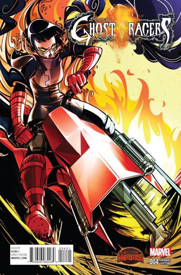 Ghost Racers #4 (Alejandra Blaze Cover)
