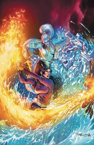 Grimm Fairy Tales: Dance of the Dead #5 (Diaz Cover)