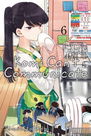 Komi Can't Communicate Vol. 6