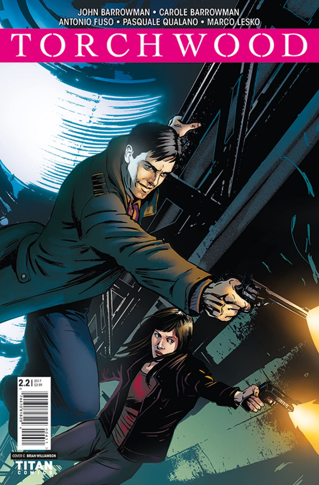 Torchwood #2 (Williamson Cover)