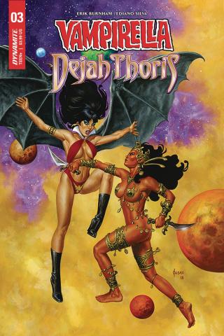 Vampirella / Dejah Thoris #3 (Jusko Cover)