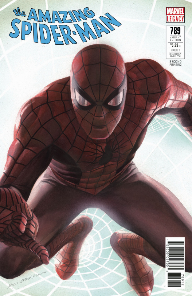 The Amazing Spider-Man #789 (Alex Ross 2nd Printing)