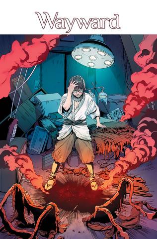 Wayward #21 (Cummings & Bonvillain Cover)