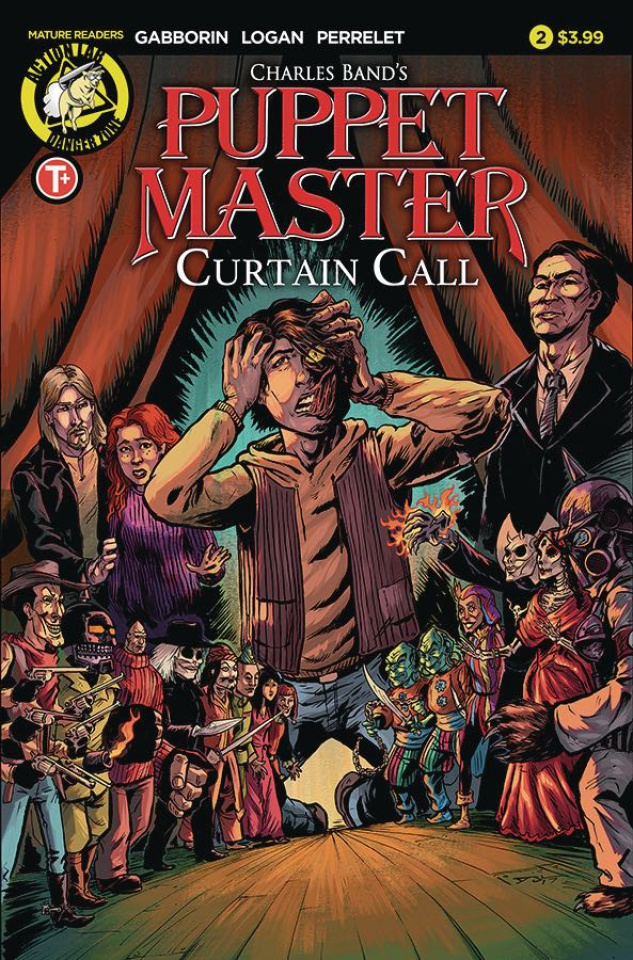 Puppet Master: Curtain Call #2 (Logan Cover)