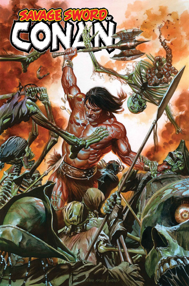 The Savage Sword of Conan #1