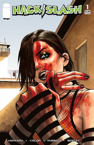 Hack/Slash: Resurrection #1 (Walking Dead #23 Tribute Cover)