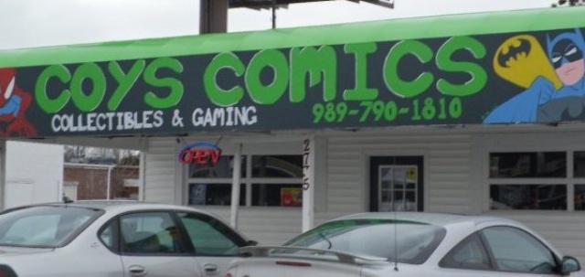Coy's Comics