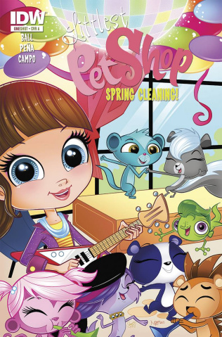 Littlest Pet Shop: Spring Cleaning (Subscription Cover)