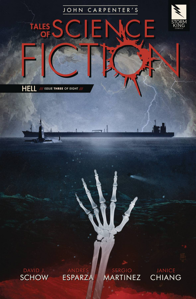 Tales of Science Fiction: Hell #3