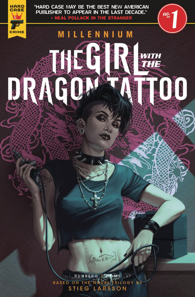 The Girl with the Dragon Tattoo #1 (Ianniciello Cover)