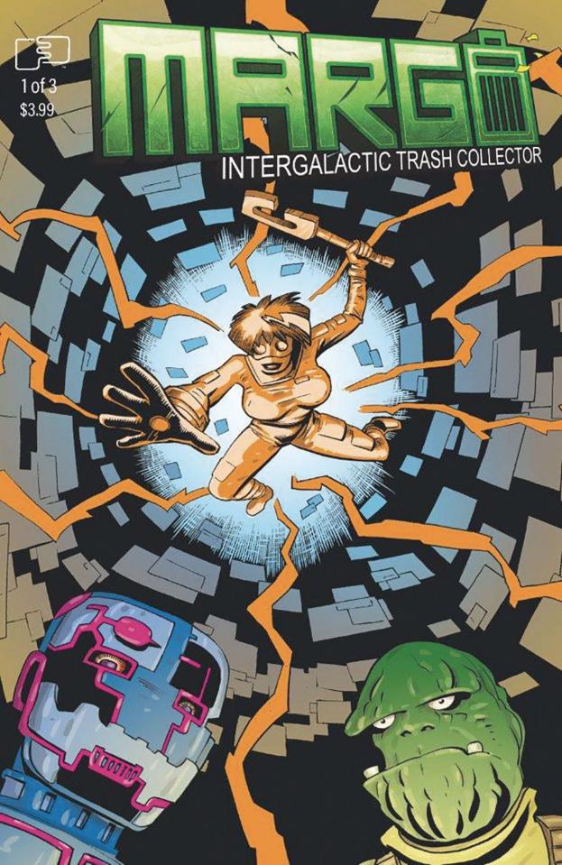 Margo: Intergalactic Trash Collector #3 (Richard Cover)