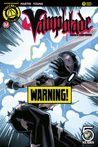 Vampblade #11 (Winston Young Risque Cover)