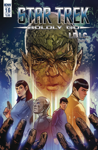 Star Trek: Boldly Go #16 (Hernandez Cover)