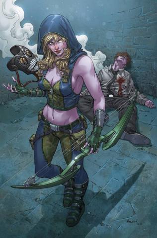 Grimm Fairy Tales: Robyn Hood #9 (Plague Malsuni Cover)