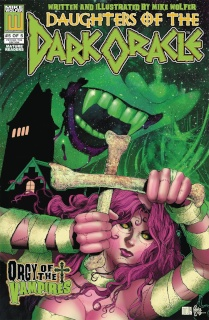 Daughters of the Dark Oracle #5 ('70s Psycho 5 Copy Cover)