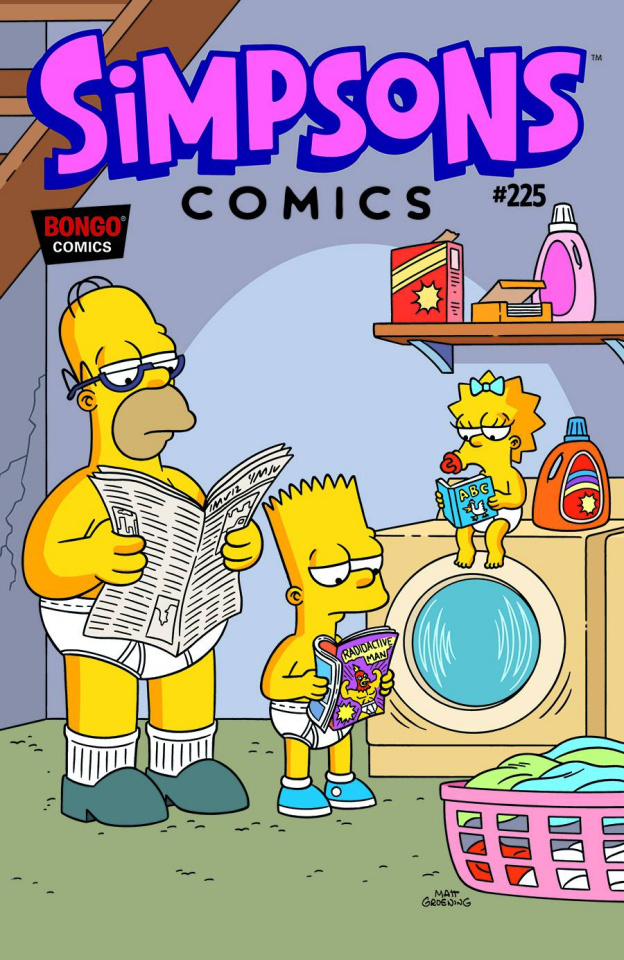 Simpsons Comics #225