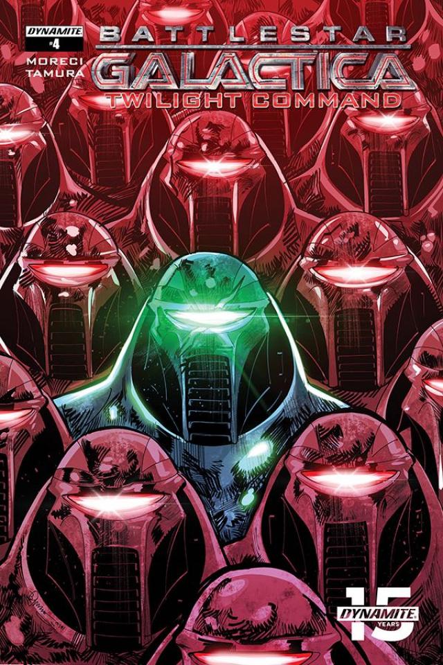Battlestar Galactica: Twilight Command #4 (Tamura Cover)