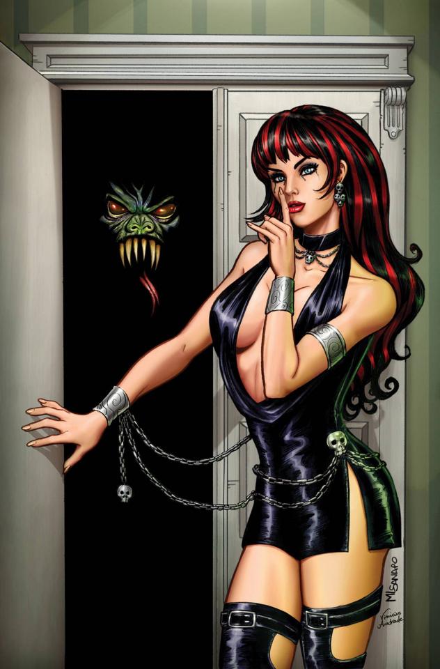 Grimm Tales of Terror #9 (Sanapo Cover)