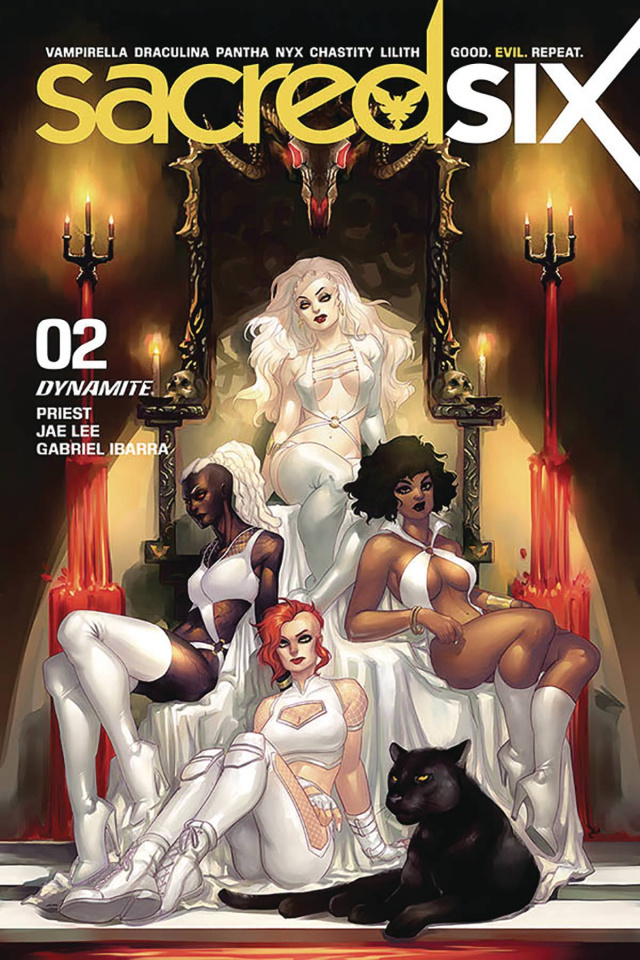 Sacred Six #2 (Hetrick Cover)