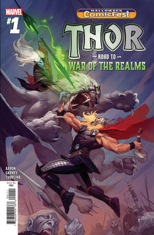 Thor: Road to War of the Realms #1 (Halloween ComicFest 2018)