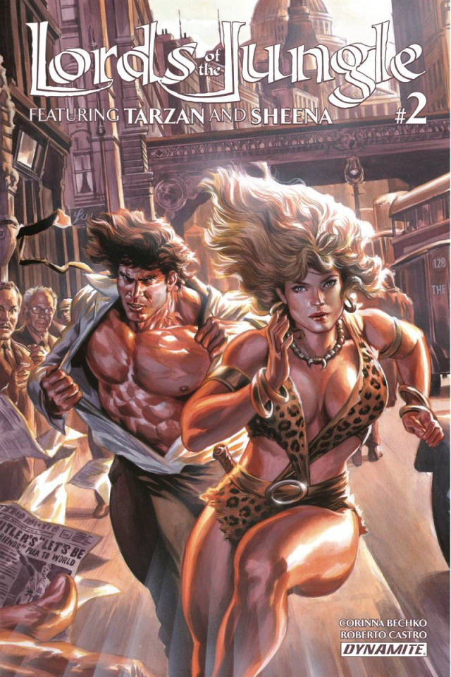 Lords of the Jungle #2 (Massafera Cover)