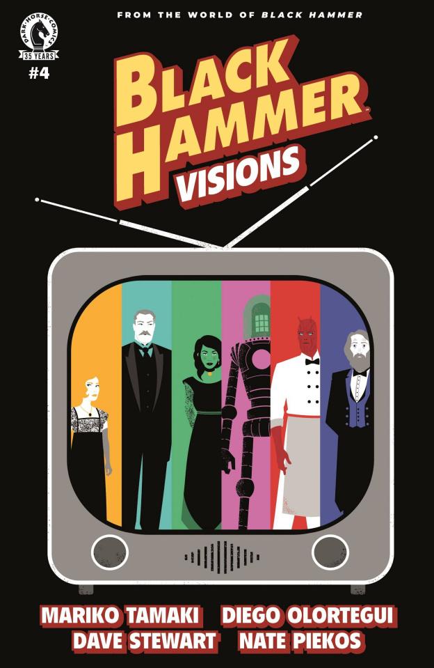 Black Hammer: Visions #4 (Martin Cover)