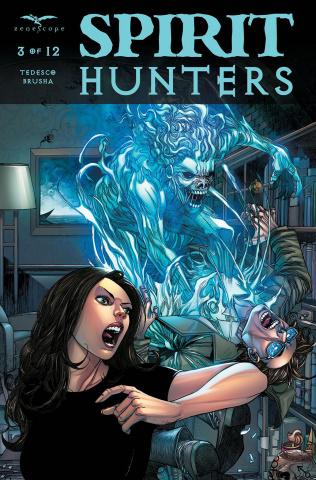 Spirit Hunters #3 (Tolibao Cover)