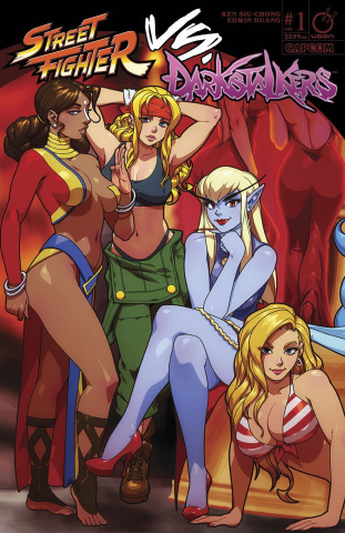 Street Fighter vs. Darkstalkers #1 (Porter Cover)