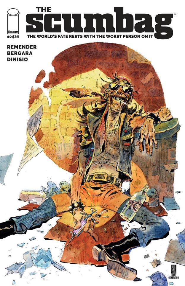 Scumbag #10 (Bergara & Dinisio Cover)