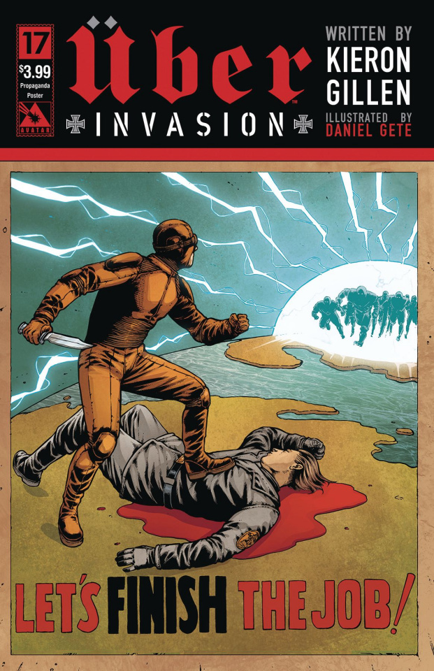 Über: Invasion #17 (Propaganda Poster Cover)