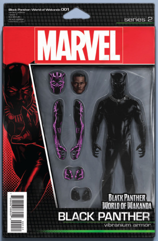Black Panther: World of Wakanda #1 (Christopher Action Figure Cover)