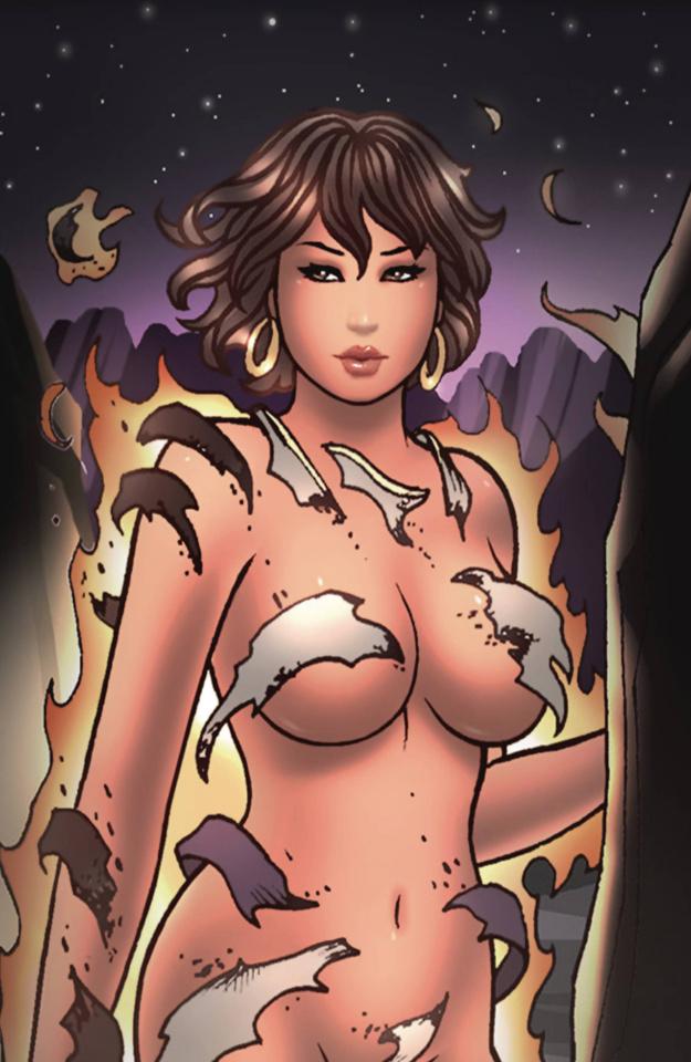 Wayward Legends #4 (Pratt Virgin Metallic Ink Cover)
