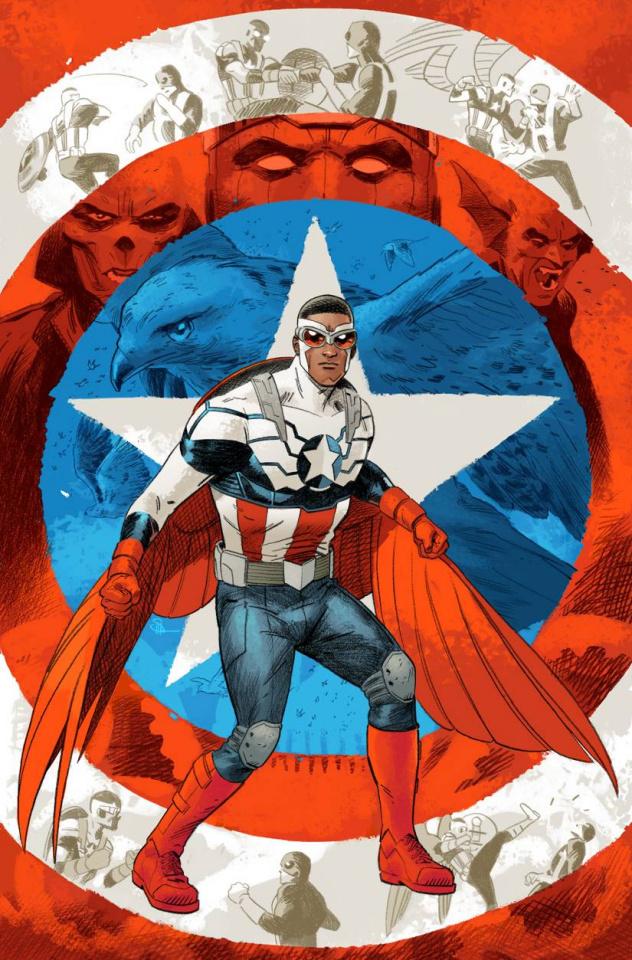 Captain America: Sam Wilson #2 (Shaner Cover)