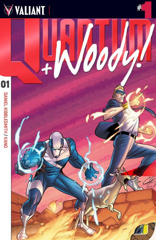 Quantum & Woody #1 (250 Copy Cover)